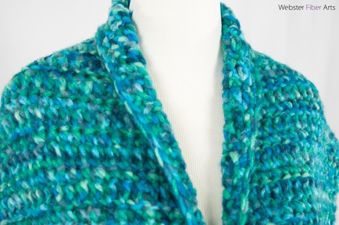 Waiting on Waves Handmade Wrap | Webster Fiber Arts | Etsy