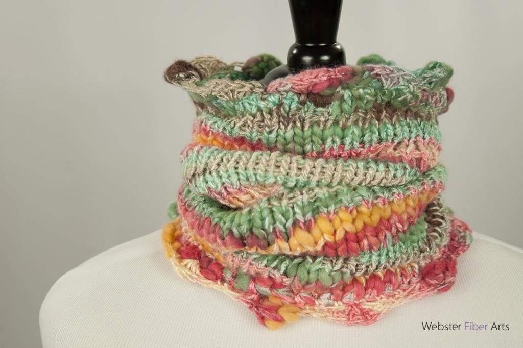 Smooth & Melty Handmade Cowl | Webster Fiber Arts | Etsy