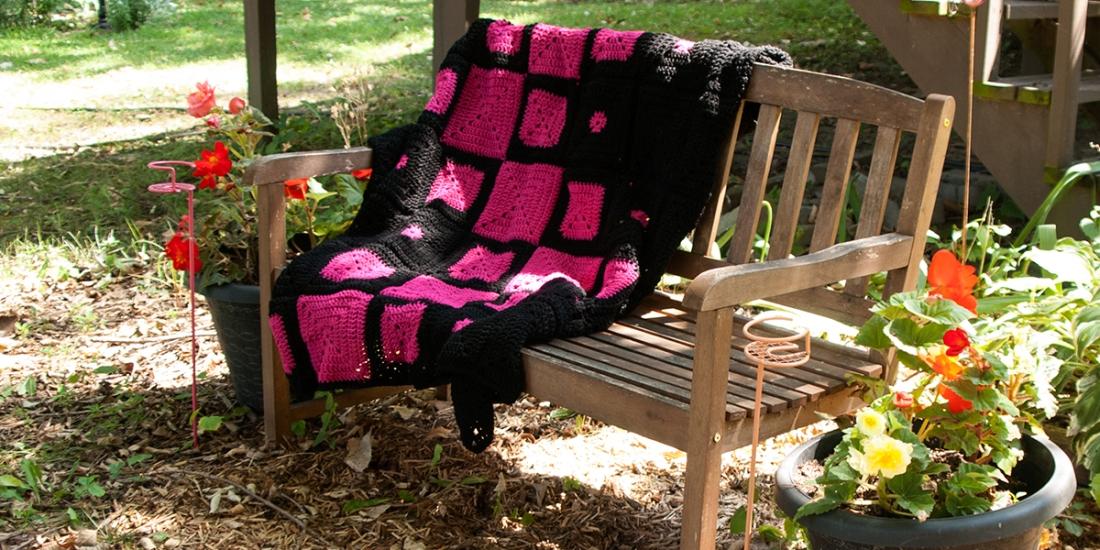 Crochet Challenge Blanket | Webster Fiber Arts