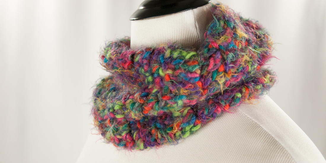 Furry Little Monsters Cowl | Webster Fiber Arts