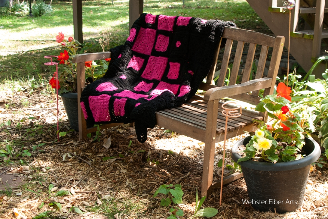 B.hooked Crochet Challenge for Warm Up America! Blanket | Webster Fiber Arts