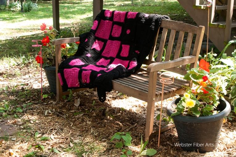 B.hooked Crochet Challenge for Warm Up America! Blanket | Webster Fiber Arts