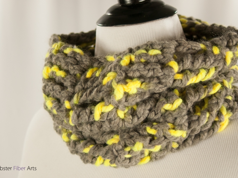 Handmade Toucan Cowl | Webster Fiber Arts | Etsy