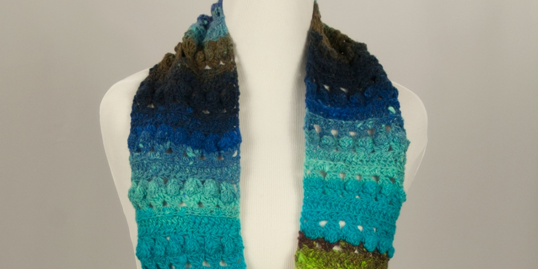 Cup & Ball Infinity Scarf | Webster Fiber Arts