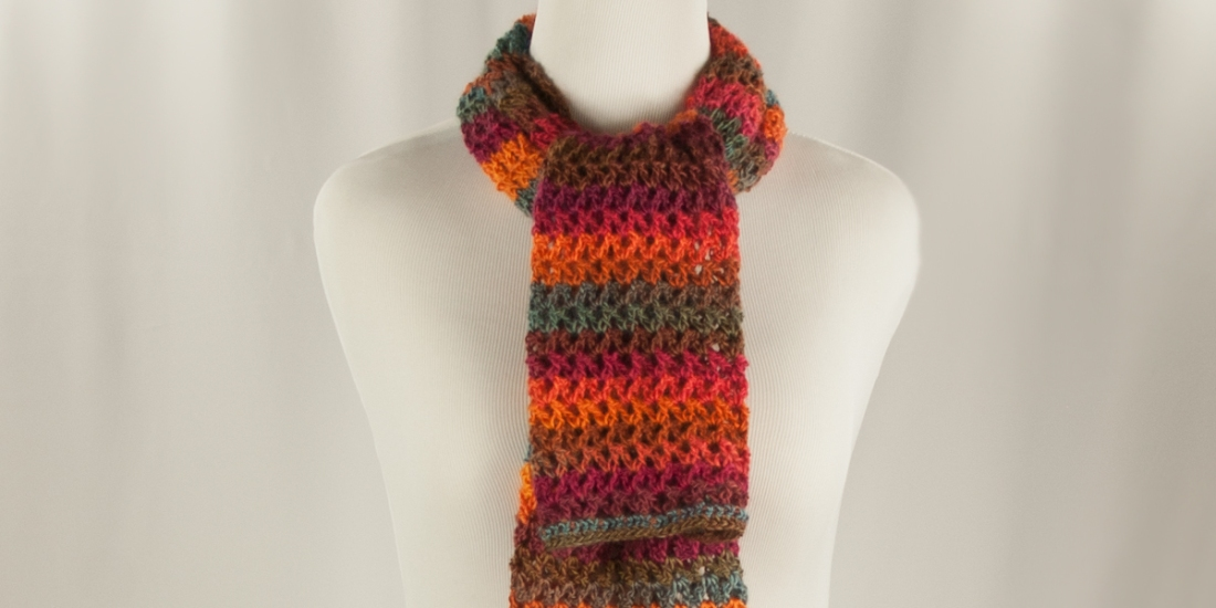 Hayride Scarf | Webster Fiber Arts