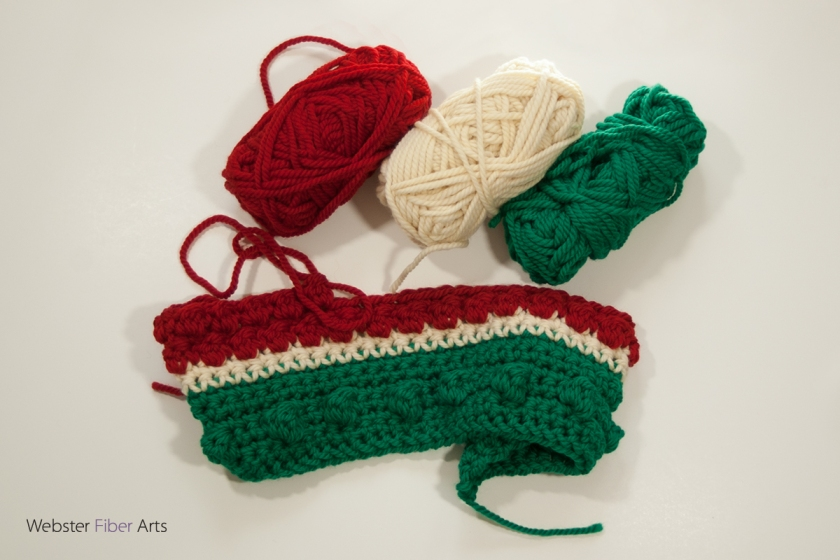 On the Hook: A Holly Jolly Cowl | Webster Fiber Arts