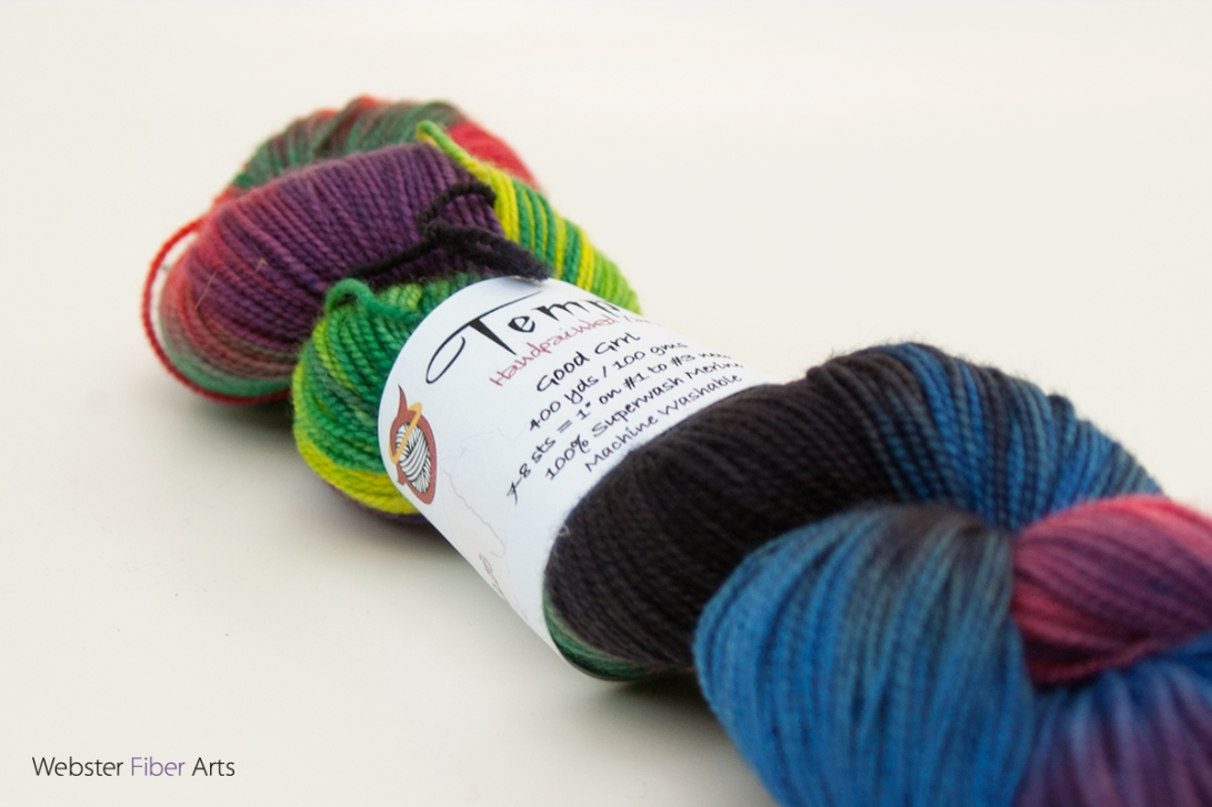 Tempted Yarns, Box of Crayons | Webster Fiber Arts