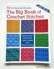 The Big Book of Crochet Stitches by Jean Leinhauser and Rita Weiss | Webster Fiber Arts