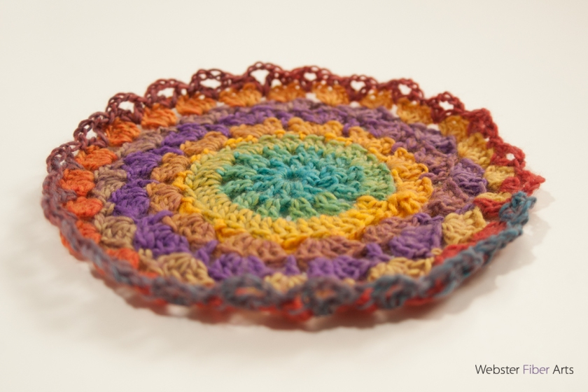 Tapestry Rainbow Mandala | Webster Fiber Arts