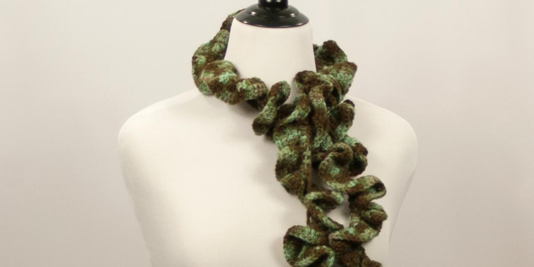 Meandering Moss Scarf | Webster Fiber Arts