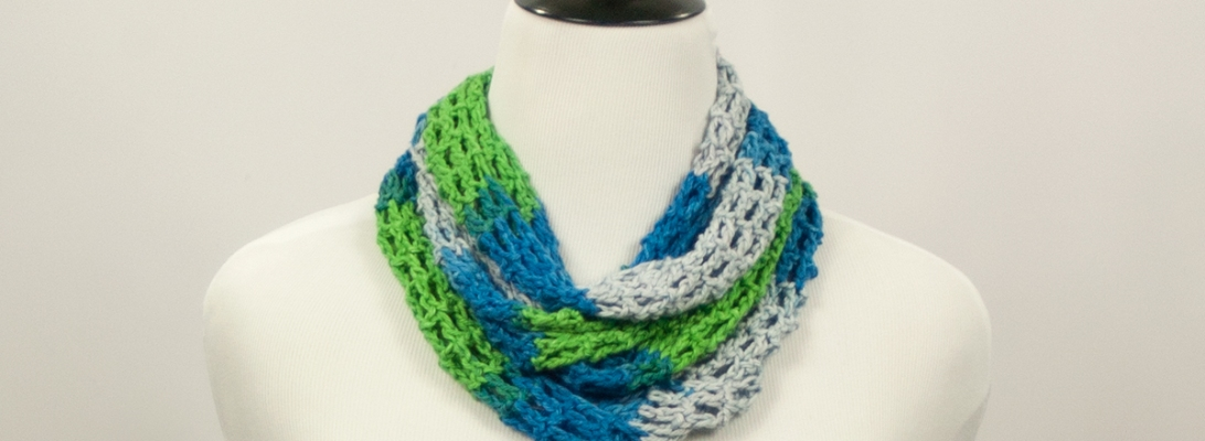 Lakeside Infinity Scarf | Webster Fiber Arts