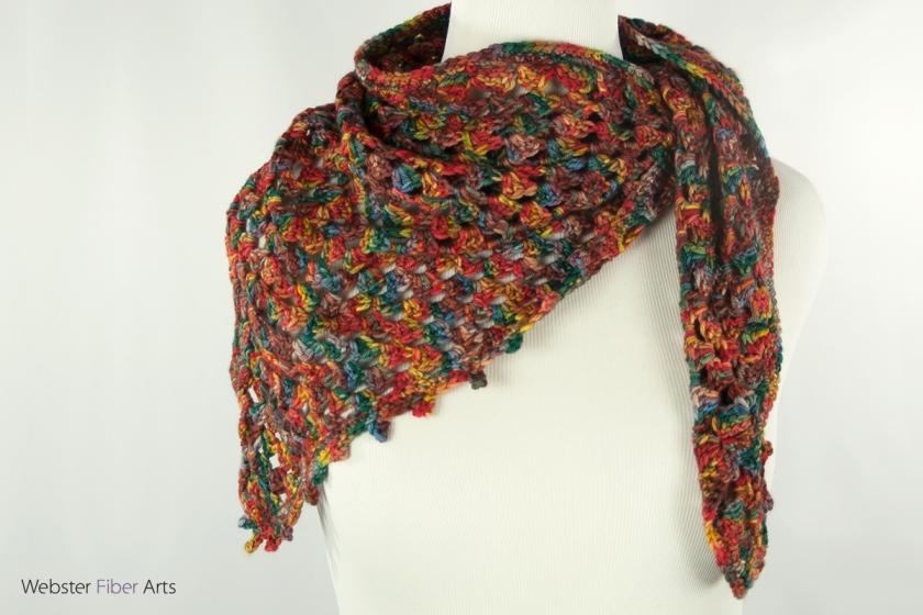 I Hope Shirley Approves Handmade Shawl | Webster Fiber Arts | Etsy