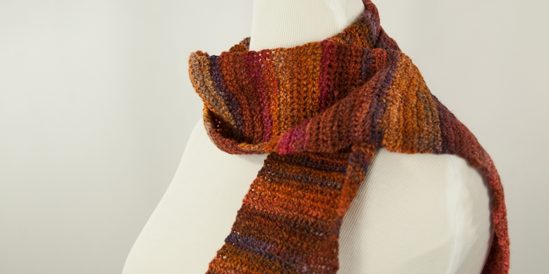 Cornucopia Scarf | Webster Fiber Arts