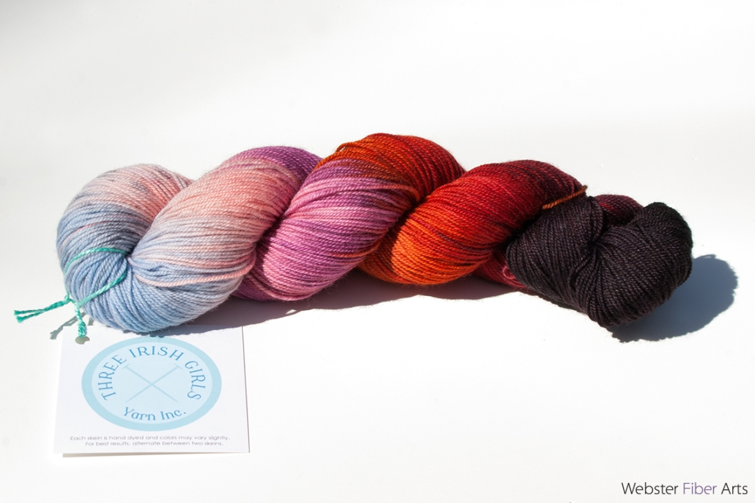 Three Irish Girls Yarn – Adorn Luxe – Supernova | Webster Fiber Arts