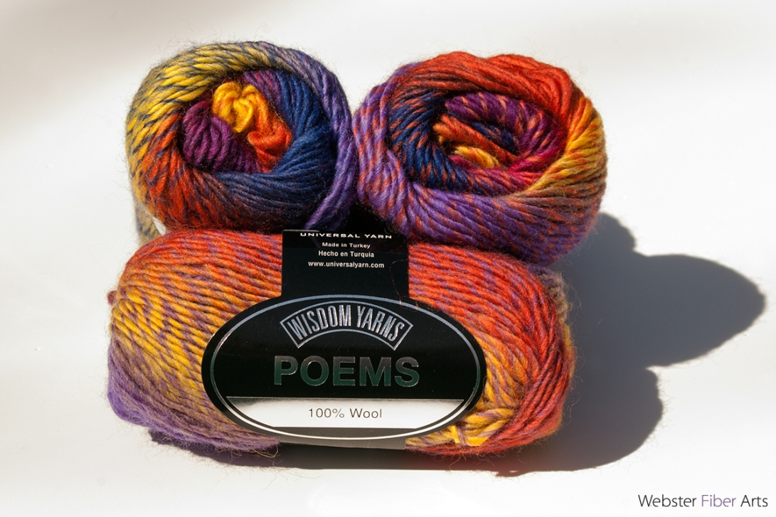 Universal Yarn—Poems—Sunspot | Webster Fiber Arts