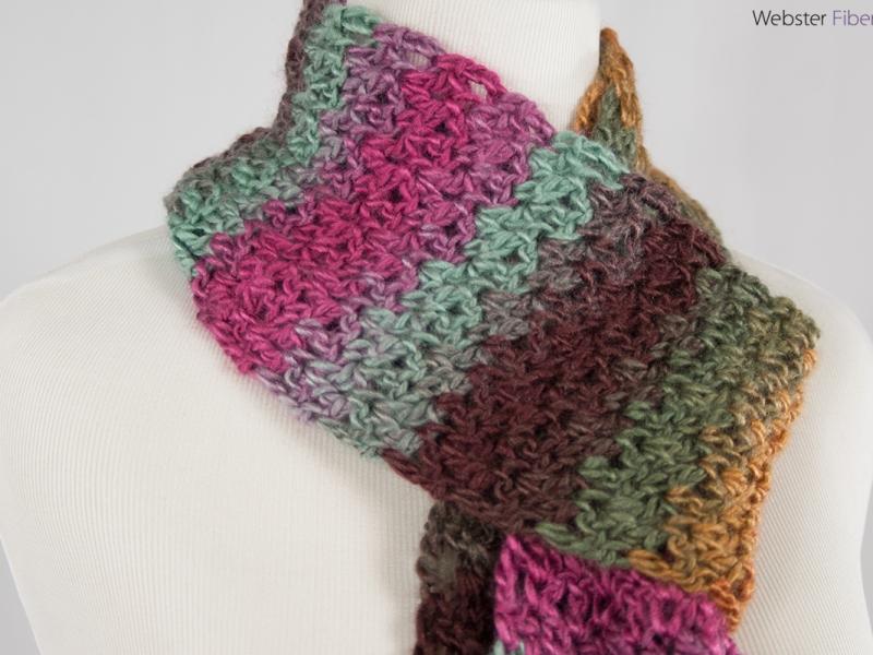 Edge of Winter Handmade Scarf | Etsy | Webster Fiber Arts