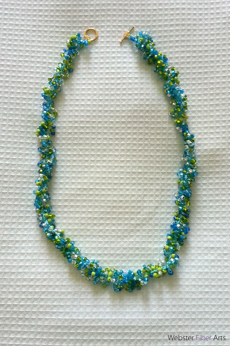 Double Helix Necklace | Webster Fiber Arts