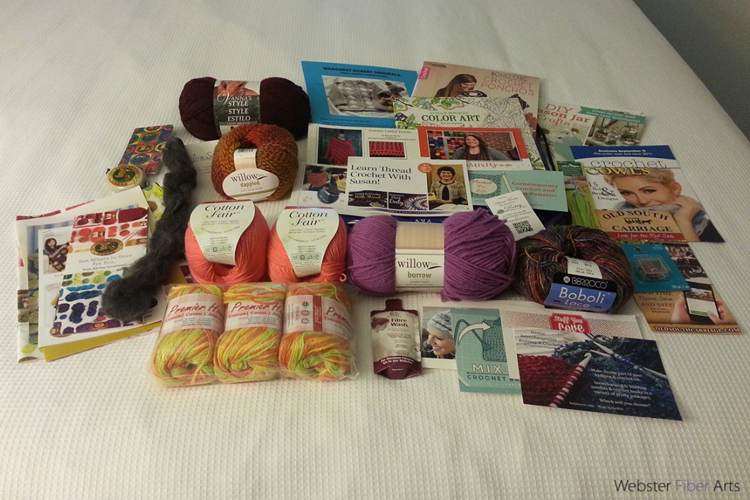 CGOA Business Meeting Goody Bag | Webster Fiber Arts