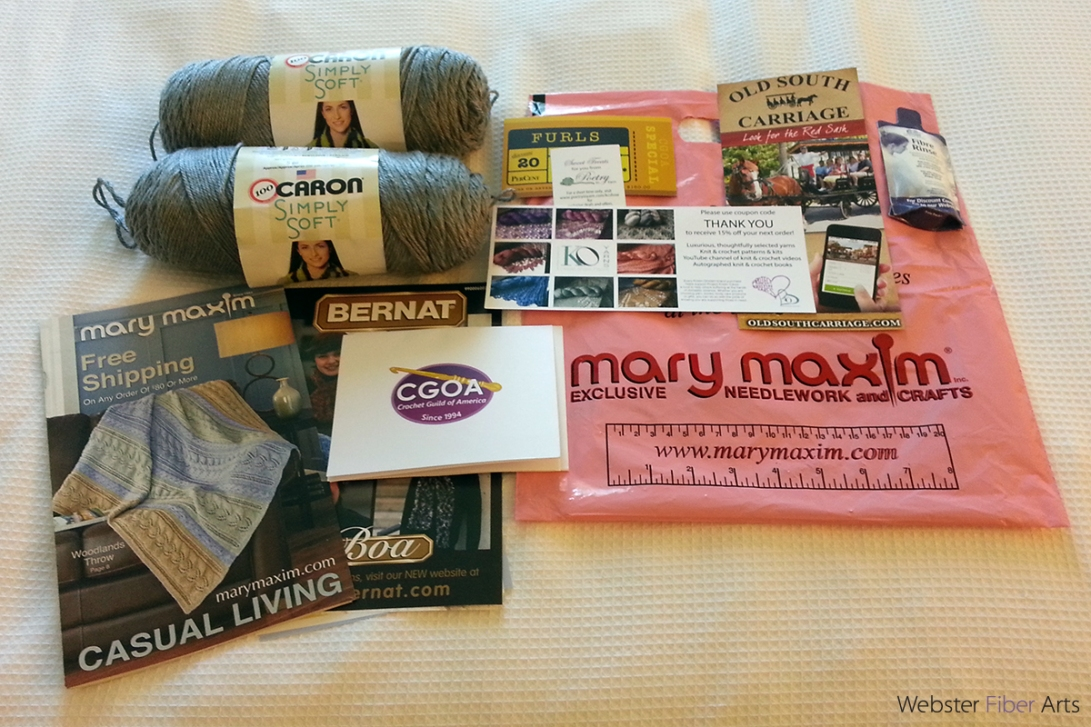 CGOA Design Winners Presentation Goody Bag | Webster Fiber Arts