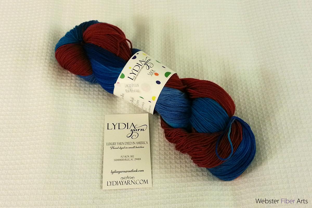 Yarn from LYDIA Yarns | Webster Fiber Arts