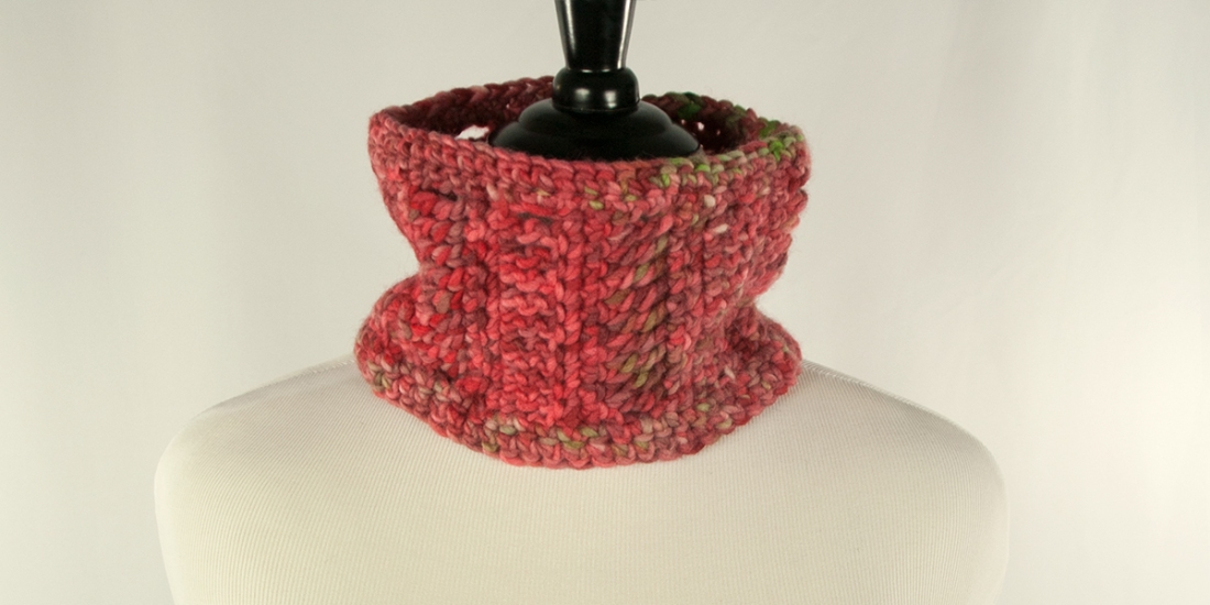 Caramel Apple Cowl | Webster Fiber Arts