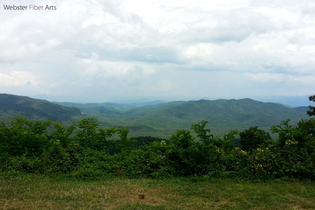 Blue Ridge Parkway | Webster Fiber Arts