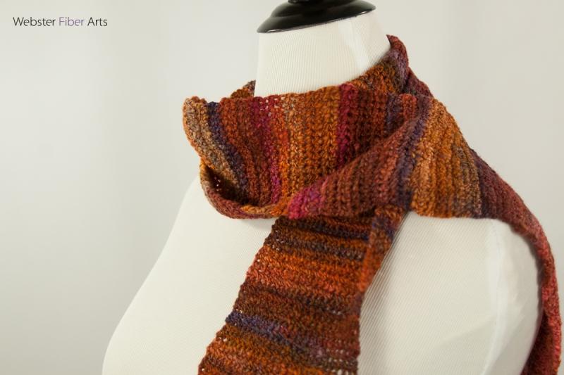 Cornucopia Handmade Scarf | Webster Fiber Arts | Etsy