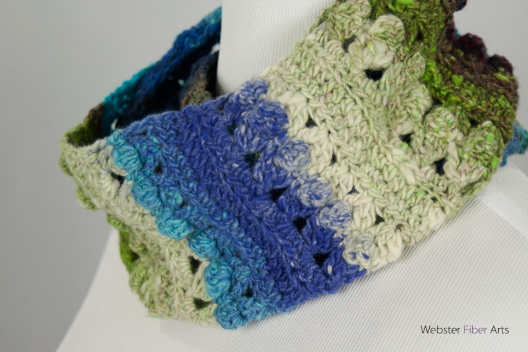 Cup & Ball Handmade Infinity Scarf | Webster Fiber Arts | Etsy