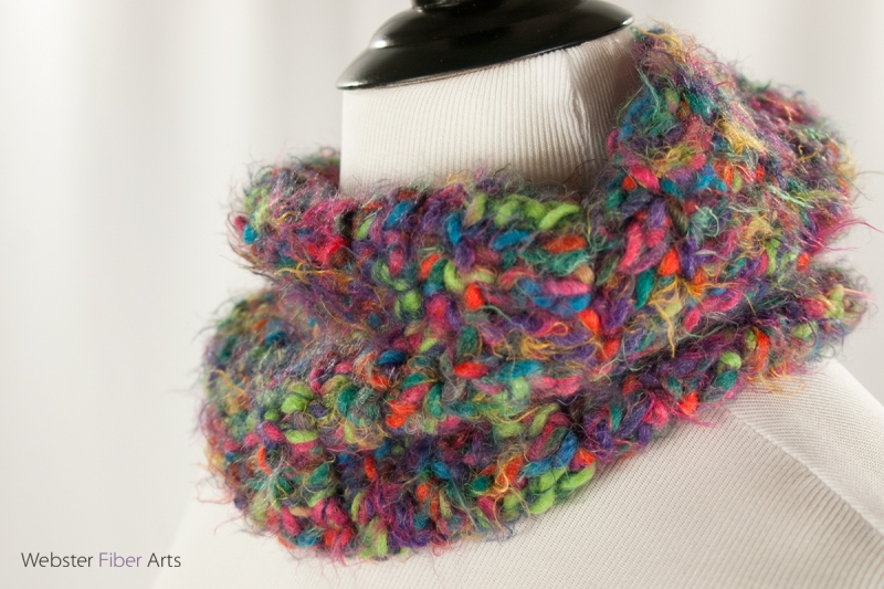 New Piece: Furry Little Monsters Cowl | Webster Fiber Arts