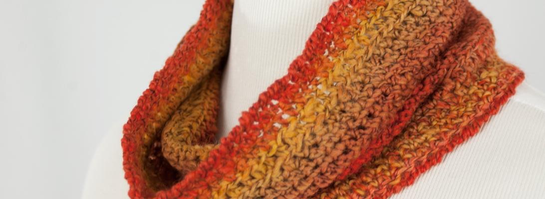 Pumpkin Spice Cowl | Webster Fiber Arts