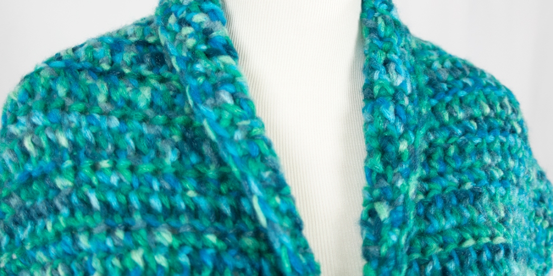 Waiting on Waves Wrap | Webster Fiber Arts