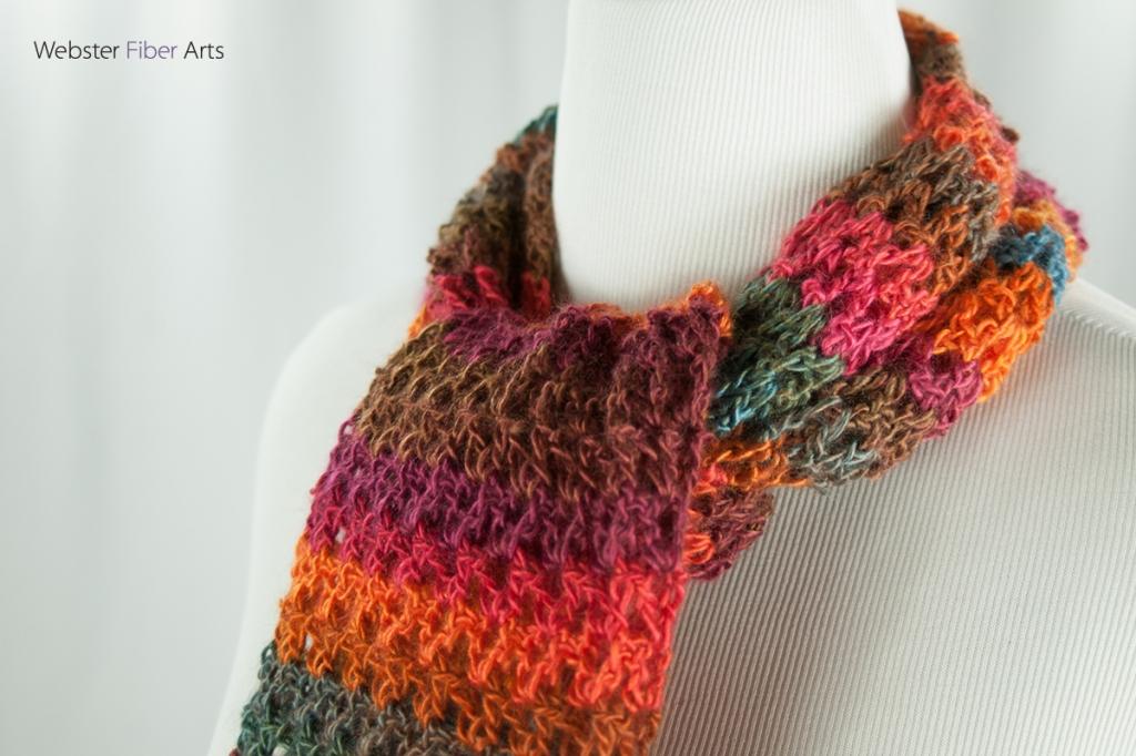 Hayride Handmade Scarf | Webster Fiber Arts | Etsy