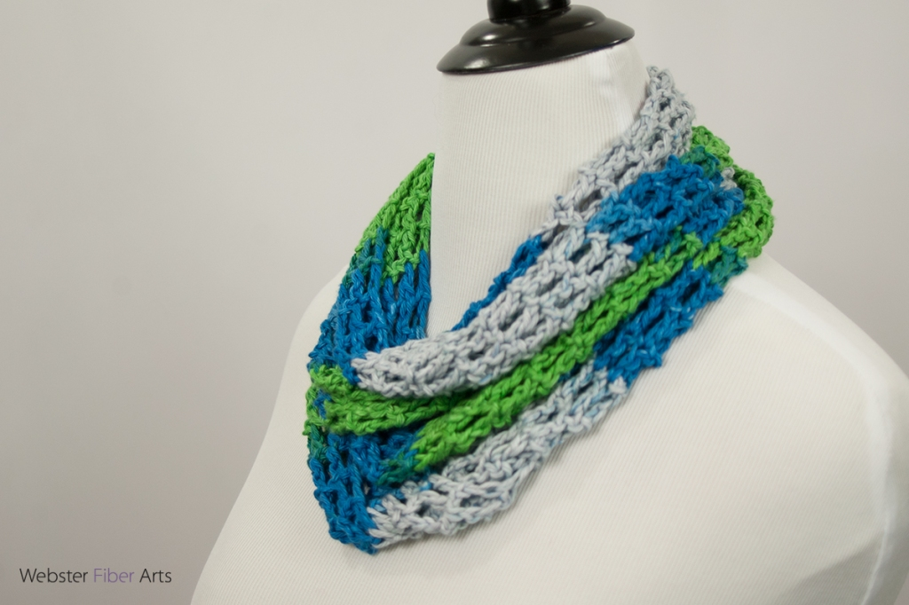 Lakeside Handmade Infinity Scarf   Webster Fiber Arts   Etsy