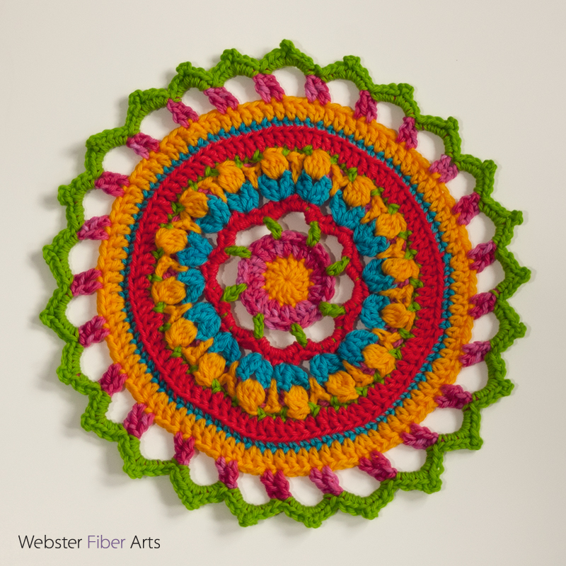 #MandalasforMarinke Project Contribution | Webster Fiber Arts