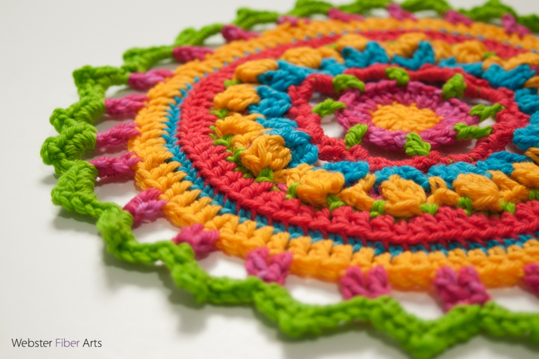 #MandalasforMarinke Piece | Webster Fiber Arts