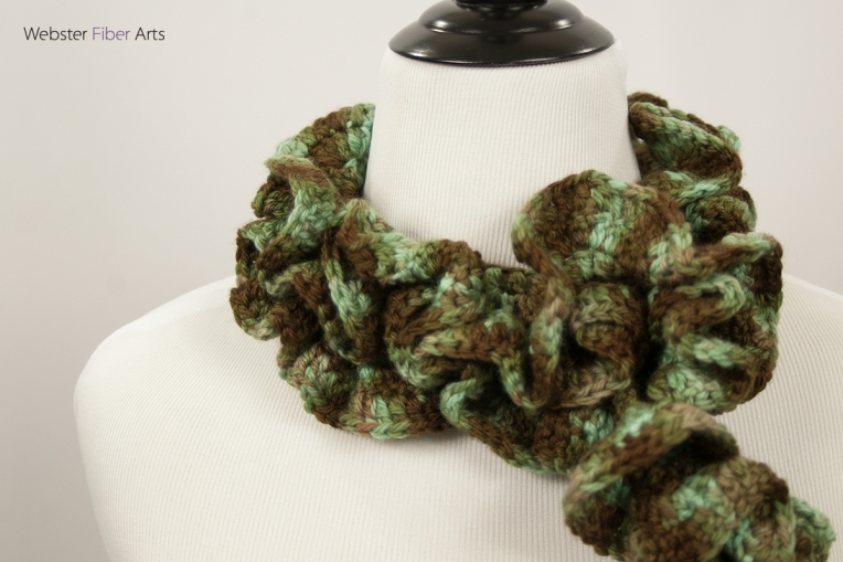 Meandering Moss Handmade Scarf | Webster Fiber Arts | Etsy