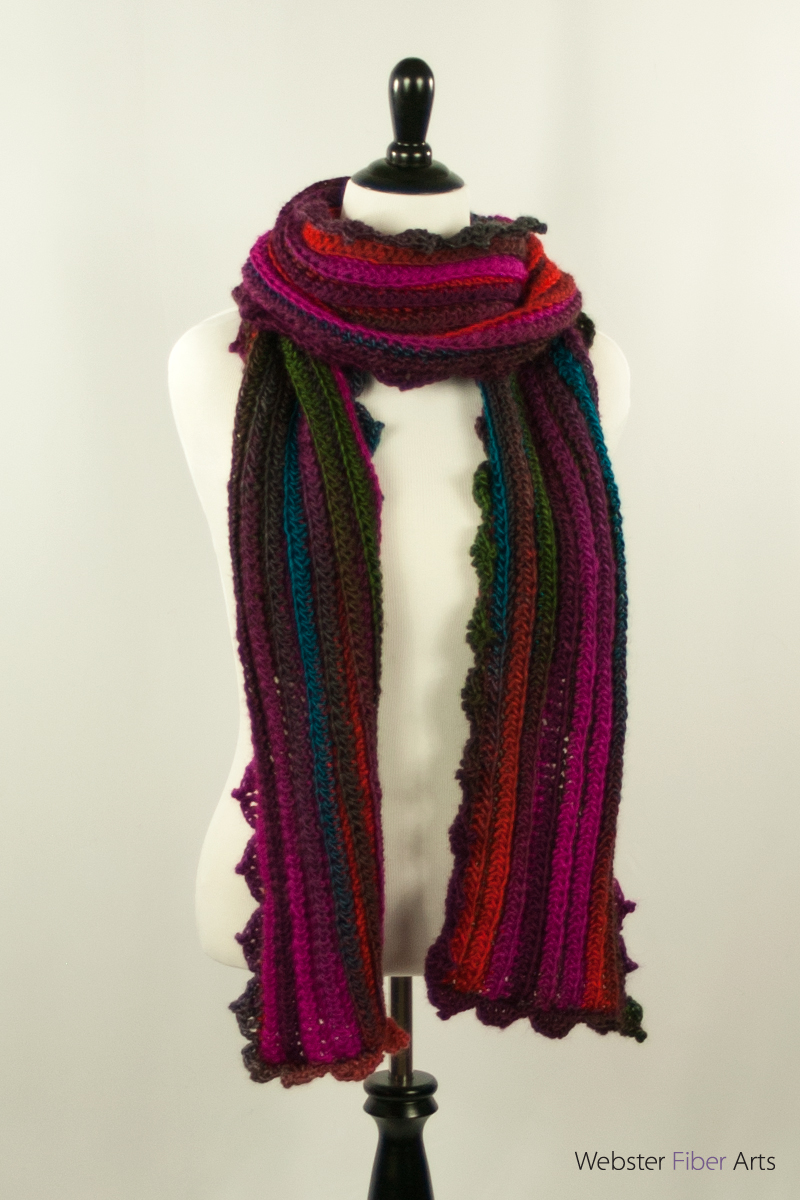Mom's Scarf 1 | Webster Fiber Arts
