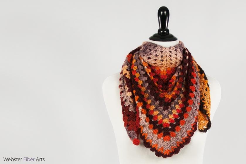 Recovery Handmade Shawl | Webster Fiber Arts | Etsy