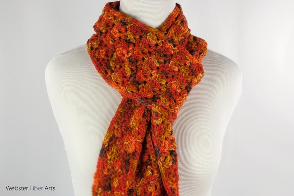 Tigerlilies Handmade Scarf | Webster Fiber Arts | Etsy