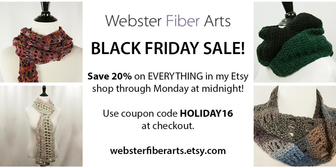 Black Friday Sale | Webster Fiber Arts