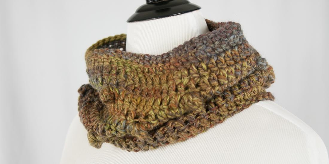 Mushroom Cap Cowl | Webster Fiber Arts