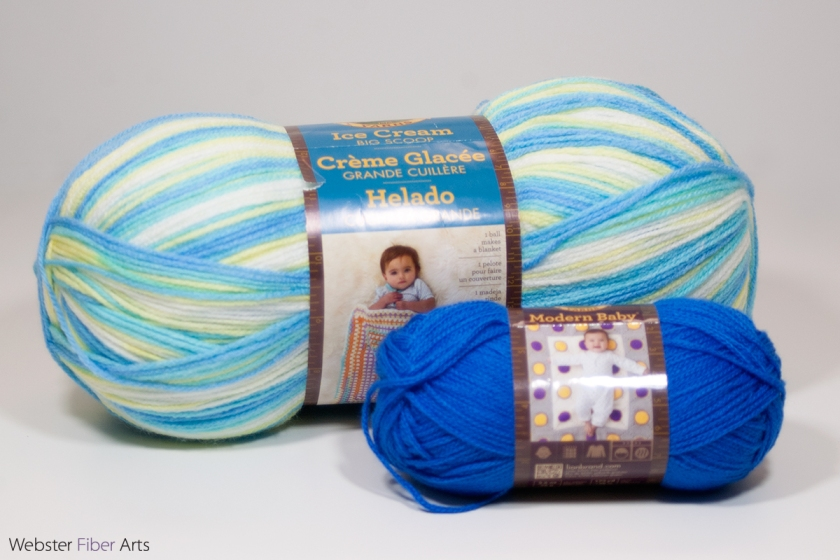 Yarns for B. Hooked Crochet Challenge 2017 | Webster Fiber Arts