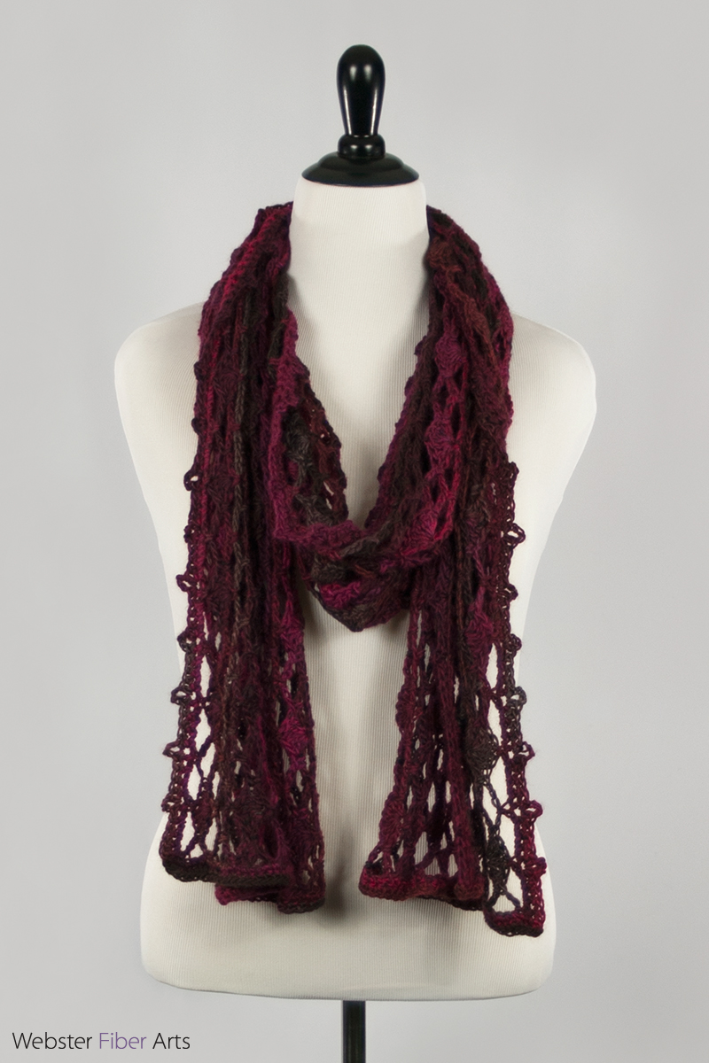 Lacy Shell Wrap | Webster Fiber Arts