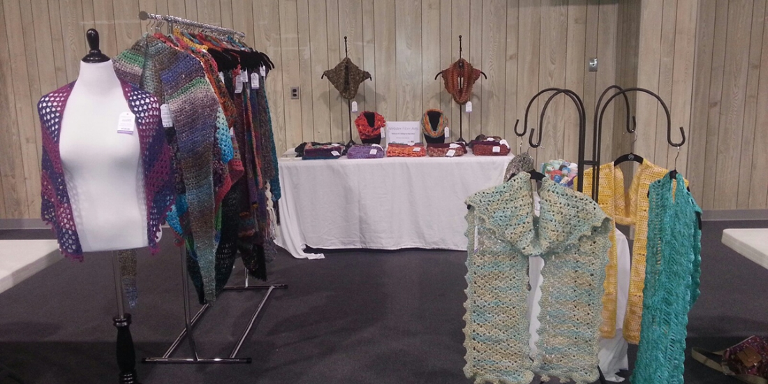 My Craft Show Booth | Webster Fiber Arts