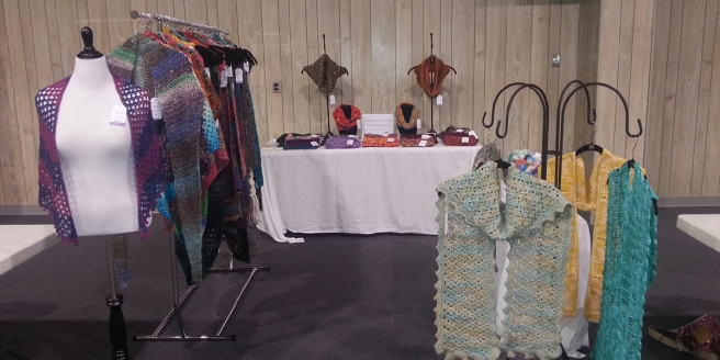 My Craft Show Booth | Webster Fiber Arts