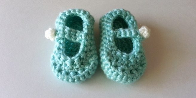 Baby Mary Janes | Webster Fiber Arts
