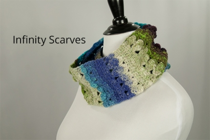 Infinity Scarves by Annie Webster | Webster Fiber Arts