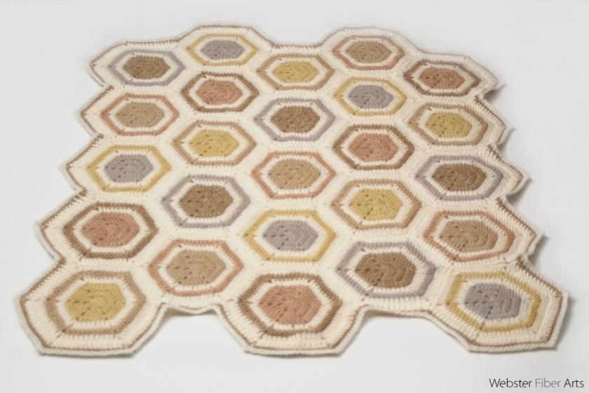 Crunchy Granola Baby Blanket | Webster Fiber Arts