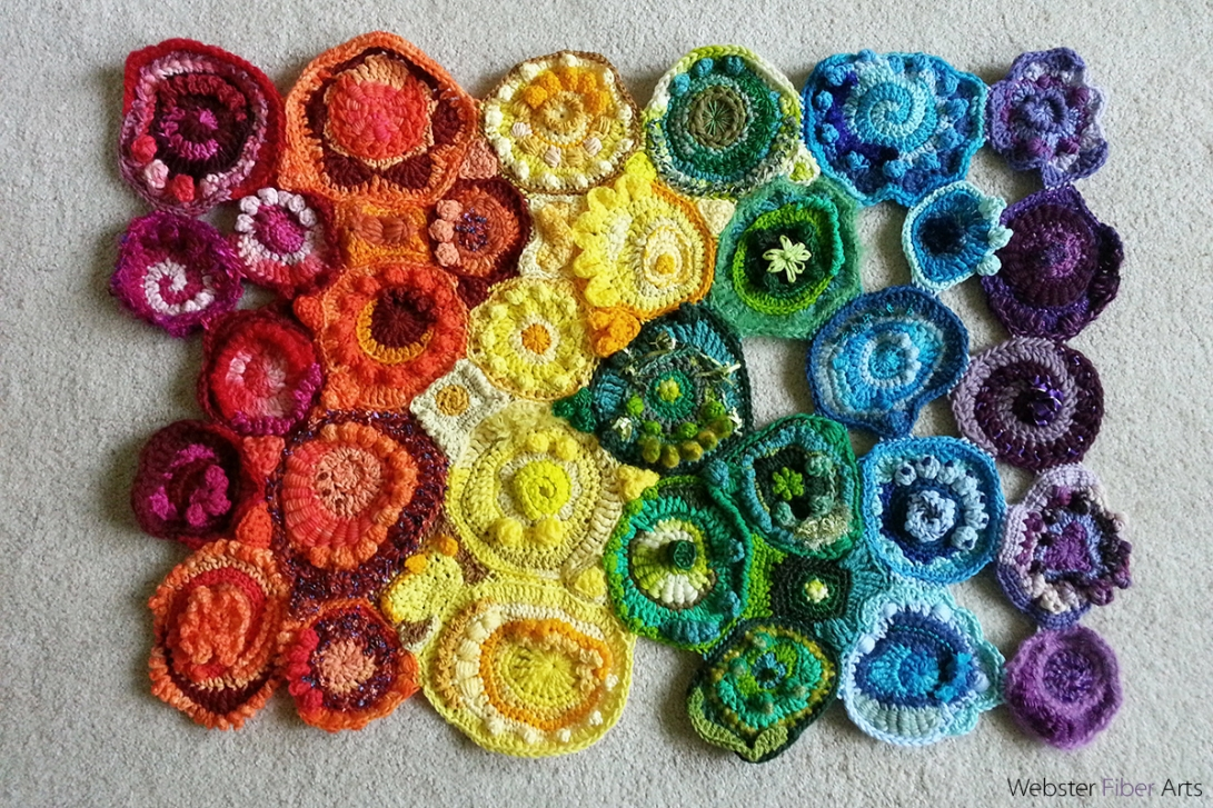 WIP: The Rainbow Thing | Webster Fiber Arts