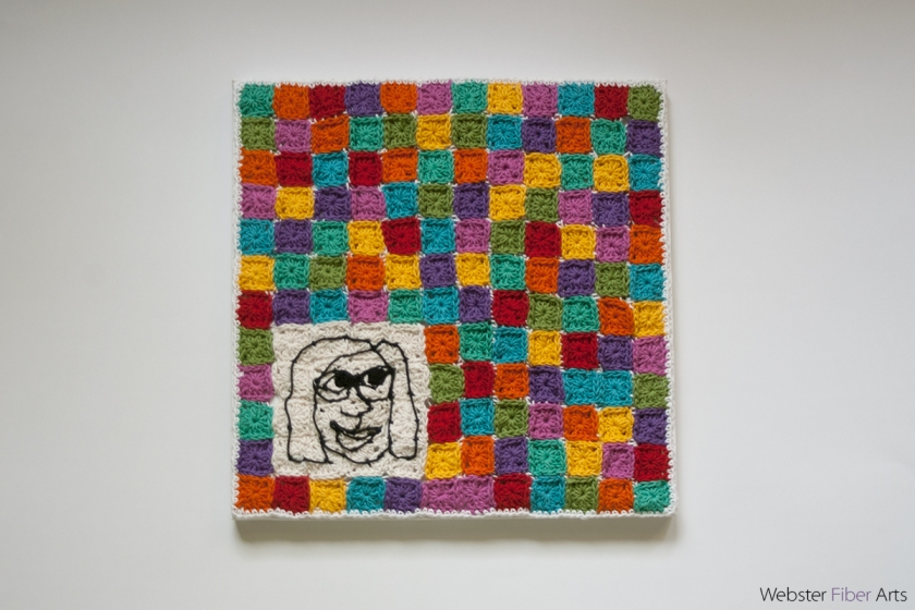 I Live in a Granny Square World | Webster Fiber Arts